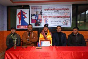 भक्तपुर जिल्ला शारीरिक सुगठन तथा फिटनेस संघ द्वारा राजेश सुवाल सम्मानित